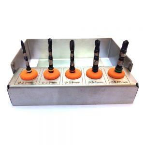 Dental Implant Drills Kit 5 pcs